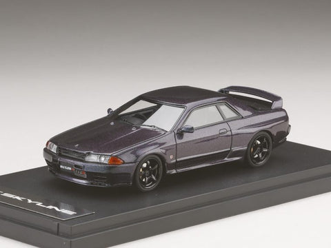 1/43 MARK 43 - NISSAN SKYLINE GT-R (BNR32) NISMO Customized version Midnight Purple (PM4304NMP)