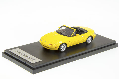 1/43 MARK 43 - EUNOS ROADSTER J-LIMITED SUNBURST YELLOW (PM4306Y)