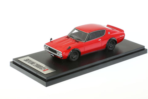 1/43 MARK 43 - Nissan Skyline GT-R (KPGC110) RED (PM4308R)