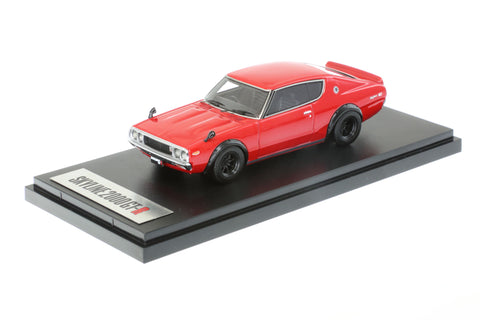 1/43 MARK 43 - Nissan Skyline GT-R (KPGC110) SPORTS WHEEL RED (PM4308SR)