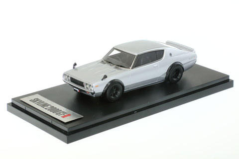 1/43 MARK 43 - Nissan Skyline GT-R (KPGC110) SPORTS WHEEL Silver Metallic (PM4308SS)