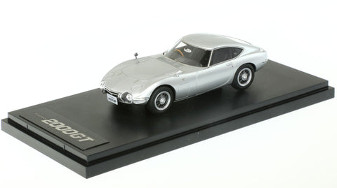 1/43 MARK 43 - TOYOTA 2000GT (MF10) SILVER (PM4309S)