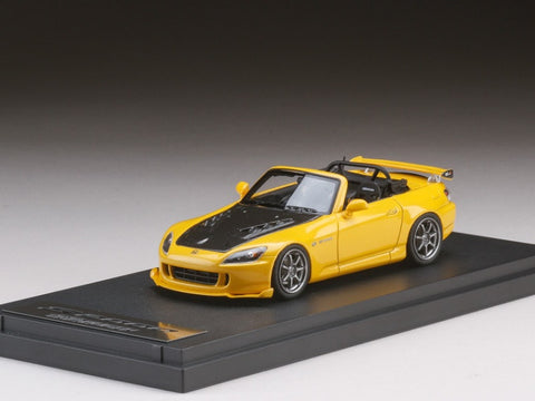 1/43 MARK 43 - Honda S2000 MUGEN (AP2) New Indy Yellow Pearl (PM4310MY)
