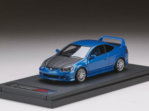 1/43 MARK 43 PM4319CBL Honda Integra Type R (DC5) Carbon Bonnet Arctic Blue Pearl