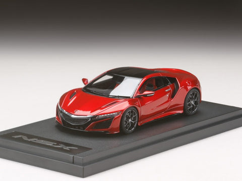 1/43 MARK 43 - Honda NSX Salon International de l'Auto 2015 Red Metallic (PM4324CR)