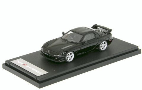 1/43 MARK 43 - Mazda RX-7 (FD3S) Type R Bathurst Brilliant Black (PM4329BK)