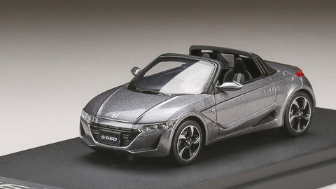 1/43 MARK 43 - Honda S660α Admiral Gray metallic (PM4331GM)