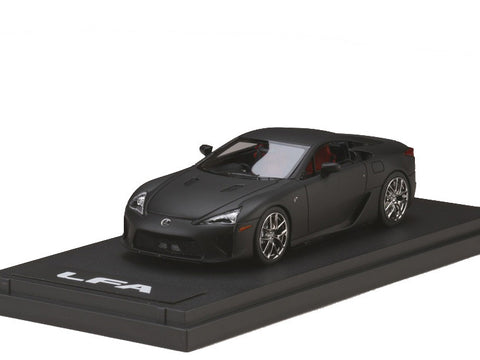 1/43 MARK 43 - Lexus LFA Matte black (PM4334MBK)