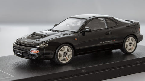 1/43 MARK 43 - Toyota Celica GT-FOUR RC (ST185) Black 5-spoke sport wheel (PM4336SBK)