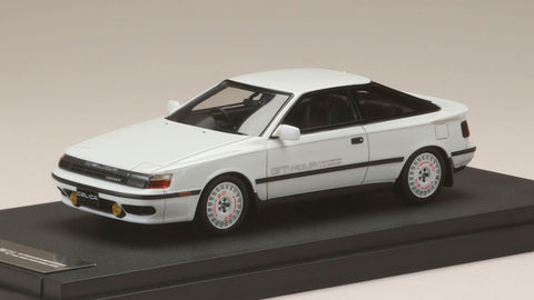 1/43 MARK 43 - Toyota CELICA GT-Four (ST165) 1986 Sports Wheel Super White II (PM4337ASW)