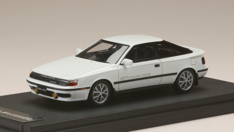 1/43 MARK 43 - Toyota CELICA GT-Four (ST165) 1986 Super White II (PM4337AW)
