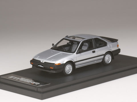 1/43 MARK 43 PM4339RSS Honda Quint Integra (AV) Rsi Quartz Silver Metallic