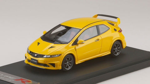 1/43 MARK 43 - Honda Civic type R euro (FN2) 無限 - Sunlight Yellow Customized Color Version (PM4347MY)
