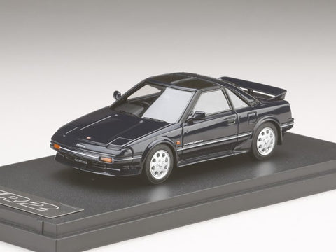 1/43 MARK 43 - Toyota MR 2 G-Limited Super Charger T Bar Roof (AW11) Blue Mica (PM4377BL)