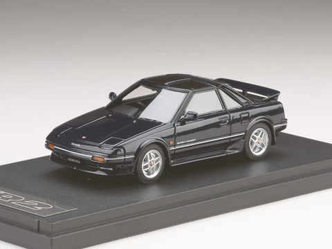 1/43 MARK 43 - Toyota MR 2 G-Limited Super Charger T Bar Roof (AW11) Blue Mica (PM4377SBL)