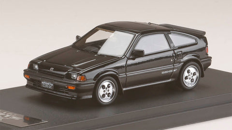 1/43 MARK43 - PM4384BK Honda ballade sports CR-X Si (AS) Black