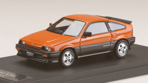 1/43 MARK43 - PM4384P Honda ballade sports CR-X Si (AS) Orange