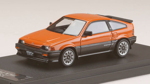 1/43 MARK43 - PM4384SP Honda Ballade Sports CR-X Si (AS) [Mugen CF-48 Wheel] Orange