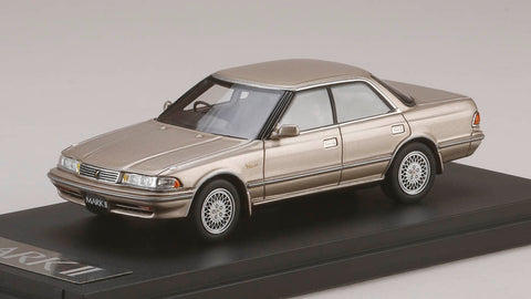 1/43 MARK43 - PM4386GBM Toyota MKⅡ Hard Top 3.0 Grande G 1990 Beige Mica Metallic