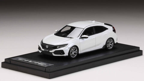 1/43 MARK43 - Honda Civic Hatchback (FK 7) 2017 White Orchi PM4391HW Resin Model