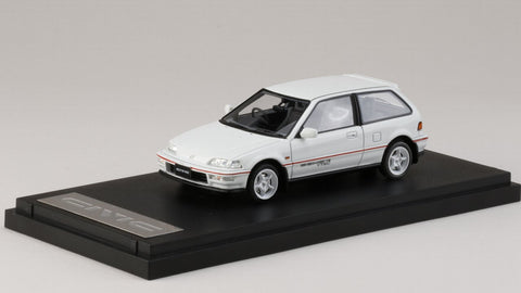 1/43 MARK43 - PM4396MW Honda Civic (EF 9) SiR II Mugen RNR equipped White