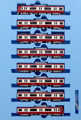 N Gauge Micro Ace A7179 Keikyu Class 600 4th-Batch w/SR Antenna 8 Cars Set