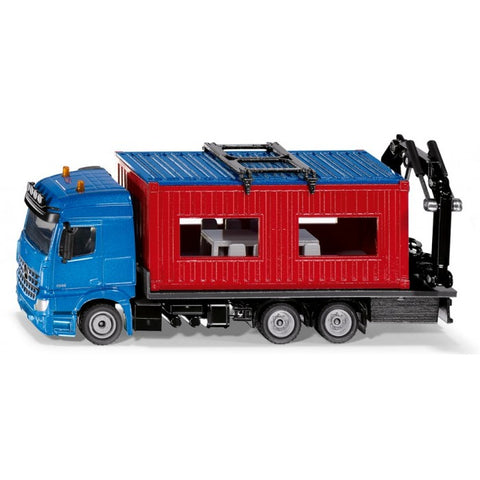 Siku 3556 Mercedes-Benz Arocs Truck with Construction Container