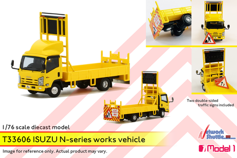 1/76 Isuzu N-Series Works Vehicle - SL7757