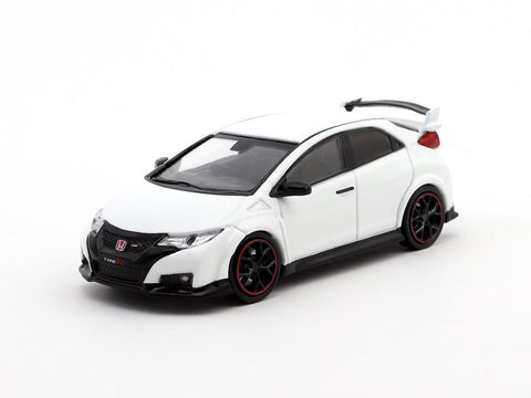 1/64 TARMAC WORKS - Honda Civic Type R FK2 (Championship White)