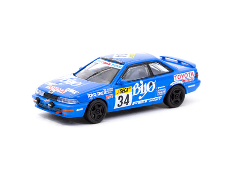 1/64 Tarmac T64-036-89SPA34 Toyota Corolla Levin AE92 SPA 24 Hours 1989