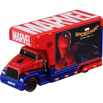 TOMY MARVEL TUNE Mov 1.0 Billboard Truck Spider Man