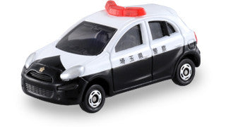 TAKARA TOMY - Tomica No.017 Nissan March Police Car