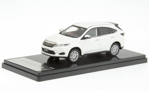 1/43 WIT'S - W302 TOYOTA HARRIER PREMIUM ''Advanced Packege'' White