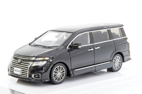 1/43 WIT'S - W344 Nissan Elgrand 250 highway STAR PREMIUM ghost black