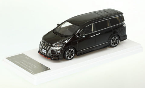 1/43 WIT'S - W391 NISSAN ELGRAND NISMO Performance Package (Black)