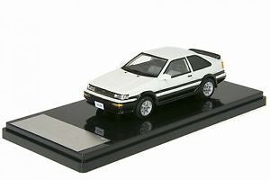 1/43 WIT'S - W426 LEVIN 1600GT APET 2DOOR AE86 White Black