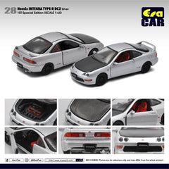 1/64 Era Car 28 Honda Integra Type-R DC2 Silver (1st Special Edition)