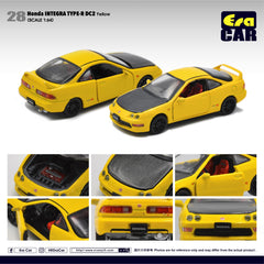 1/64 Era Car 28 Honda Integra Type-R DC2 Yellow