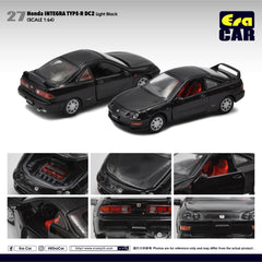1/64 Era Car 27 Honda Integra Type-R DC2 Light Black