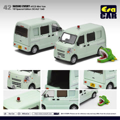 (Pre-Order) 1/64 Era Car 42 Suzuki Every AFCD Mini Van (1st Special Edition)