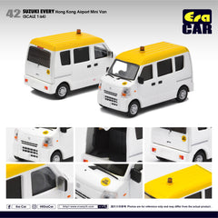 (Pre-Order) 1/64 Era Car 42 Suzuki Every Hong Kong Airport Mini Van