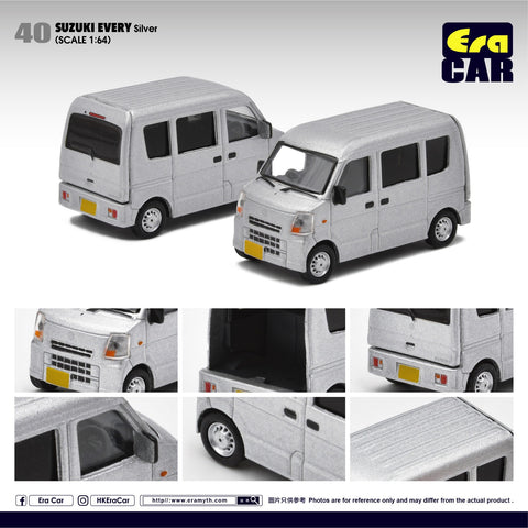 1/64 Era Car 40 Suzuki Every Silver
