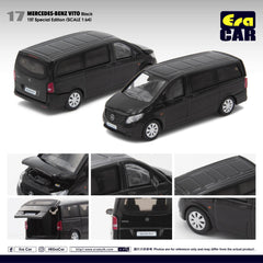 (Pre-Order) 1/64 Era Car 17 Mercedes-Benz Vito Black (1st Special Edition)