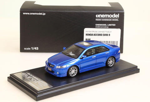 1/43 OneModel Honda Accord Euro R White Blue