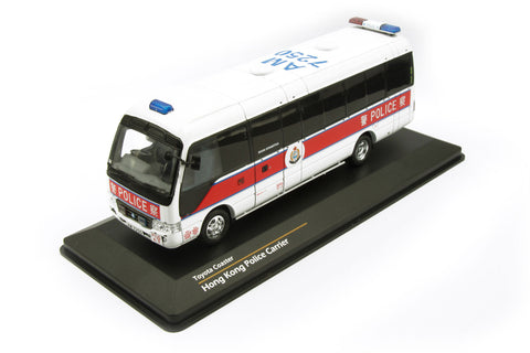 1/43 TINY Toyota Coaster - Hong Kong Police Personnel Carrier