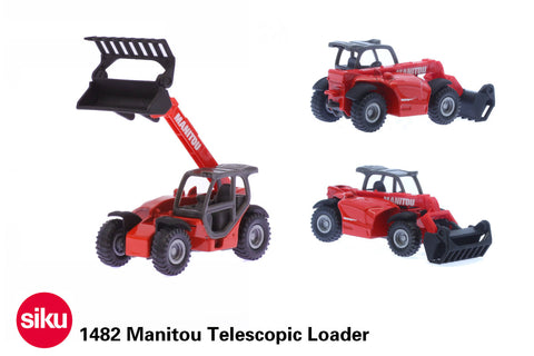 Siku 1482 Manitou Telescopic Loader