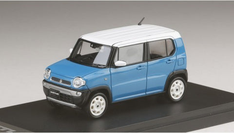 Mark43 PM4388GBL 1/43 Suzuki Hustler G Summer Blue Metallic