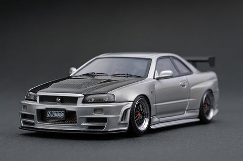 1/43 ignition model - IG0790 Nismo R34 GT-R Z-tune gun metallic