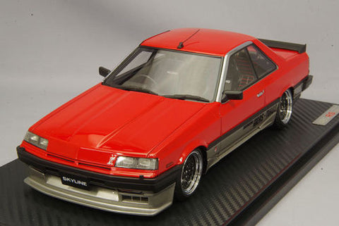 1:18 Ignition Model IG0992 Nissan Skyline 2000 RS-X Turbo-C (R30) Red&Silver
