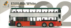 Tiny City die-cast - No. L02 E500 Bus White (Rt.914) (2nd Release)